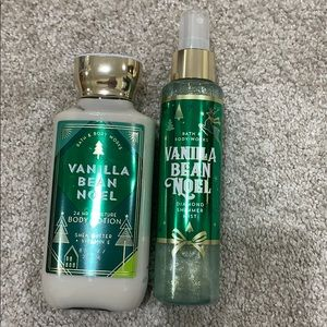 Lotion and Shimmer Mist